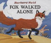 Cover art for FOX WALKED ALONE