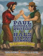Cover art for PAUL BUNYAN VS. HALS HALSON