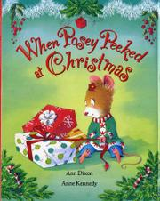 Book Cover for WHEN POSEY PEEKED AT CHRISTMAS