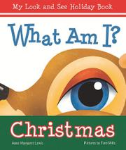 Book Cover for WHAT AM I?  CHRISTMAS
