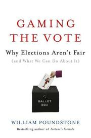 Book Cover for GAMING THE VOTE