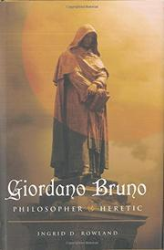 Book Cover for GIORDANO BRUNO