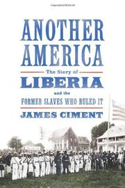 ANOTHER AMERICA by James Ciment