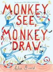 Book Cover for MONKEY SEE, MONKEY DRAW