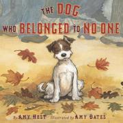 Cover art for THE DOG WHO BELONGED TO NO ONE