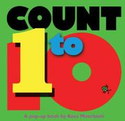 Cover art for COUNT 1 TO 10