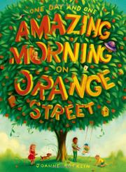 Cover art for ONE DAY AND ONE AMAZING MORNING ON ORANGE STREET