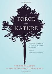 Cover art for A FORCE FOR NATURE