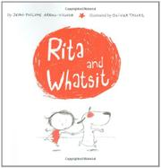 RITA AND WHATSIT by Jean-Philippe Arrou-Vignod
