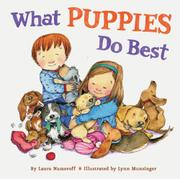 WHAT PUPPIES DO BEST by Laura Numeroff