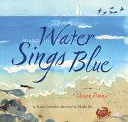 Book Cover for WATER SINGS BLUE