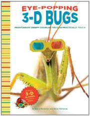 Book Cover for EYE-POPPING 3-D BUGS