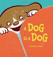 Book Cover for A DOG IS A DOG