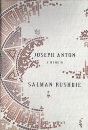 Book Cover for JOSEPH ANTON