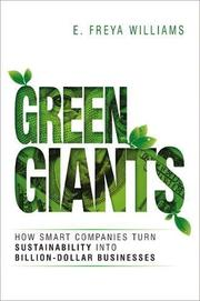 GREEN GIANTS by E. Freya Williams