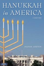 HANUKKAH IN AMERICA by Dianne Ashton