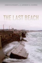 THE LAST BEACH by Orrin H. Pilkey