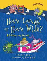Cover art for HOW LONG OR HOW WIDE?