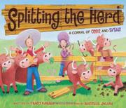 Cover art for SPLITTING THE HERD