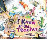 Cover art for I KNOW AN OLD TEACHER