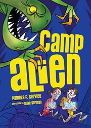 Cover art for CAMP ALIEN
