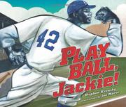 Book Cover for PLAY BALL, JACKIE!