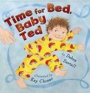 Book Cover for TIME FOR BED, BABY TED