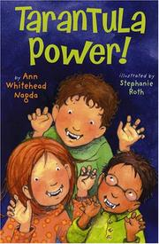 Cover art for TARANTULA POWER!