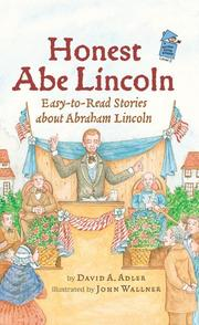 HONEST ABE LINCOLN by David A. Adler