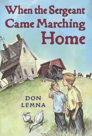 Cover art for WHEN THE SERGEANT CAME MARCHING HOME