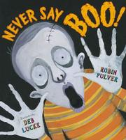 Cover art for NEVER SAY BOO!