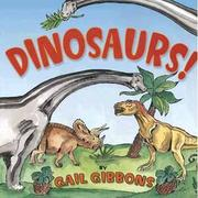 Book Cover for DINOSAURS!