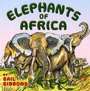 Book Cover for ELEPHANTS OF AFRICA