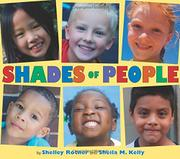 Book Cover for SHADES OF PEOPLE