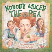Cover art for NOBODY ASKED THE PEA
