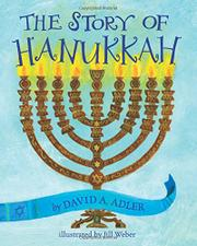Cover art for THE STORY OF HANUKKAH