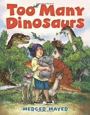 Cover art for TOO MANY DINOSAURS