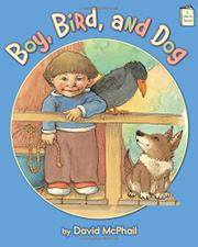 Cover art for BOY, BIRD, AND DOG