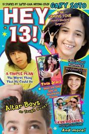 HEY, 13! by Gary Soto