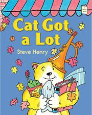CAT GOT A LOT by Steve Henry