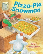 PIZZA-PIE SNOWMAN by Valeri Gorbachev