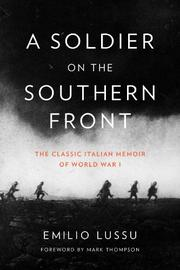 A SOLDIER ON THE SOUTHERN FRONT by Emilio Lussu