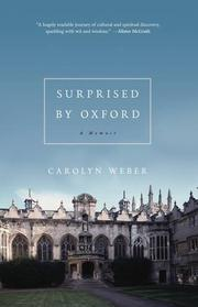 Book Cover for SURPRISED BY OXFORD