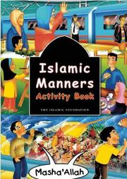 ISLAMIC MANNERS ACTIVITY BOOK by Fatima D'Oyen