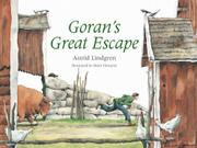 Cover art for GORAN'S GREAT ESCAPE