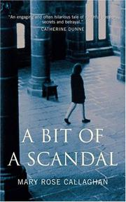 Cover art for A BIT OF A SCANDAL