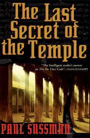 THE LAST SECRET OF THE TEMPLE by Paul Sussman