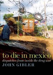 Book Cover for TO DIE IN MEXICO