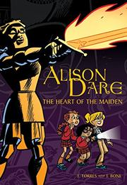 Book Cover for ALISON DARE: THE HEART OF THE MAIDEN