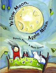 Book Cover for YELLOW MOON, APPLE MOON